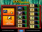 slot machine graits 100 pandas