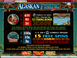 bonus slot machine alaskan fishing