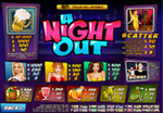 tabella vincite slot a night out