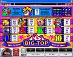 tabella pagamenti slot big top