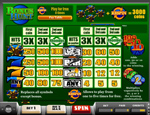 paytable slot bonus hunt