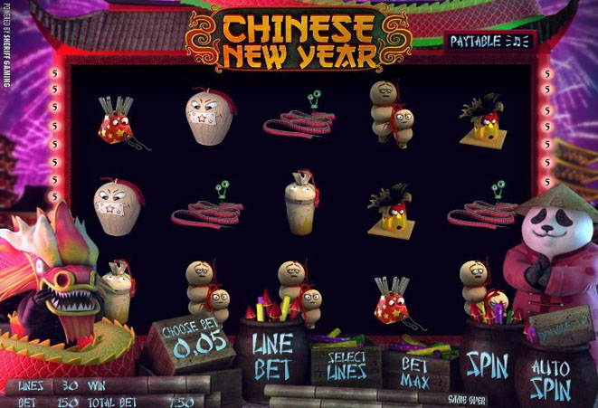 slot online chinese new year gratis