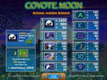 slot machine gratis coyote moon