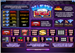 paytable slot diamond wild