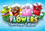 slot machine flowers christmas edition