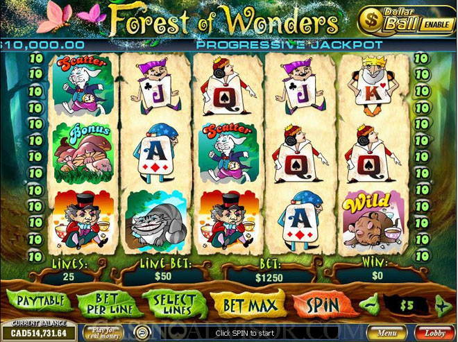 slot gratis forest of wonders