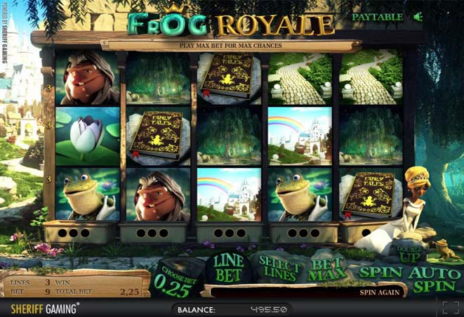 slot machine frog royale gratis