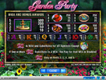 slot garden party online