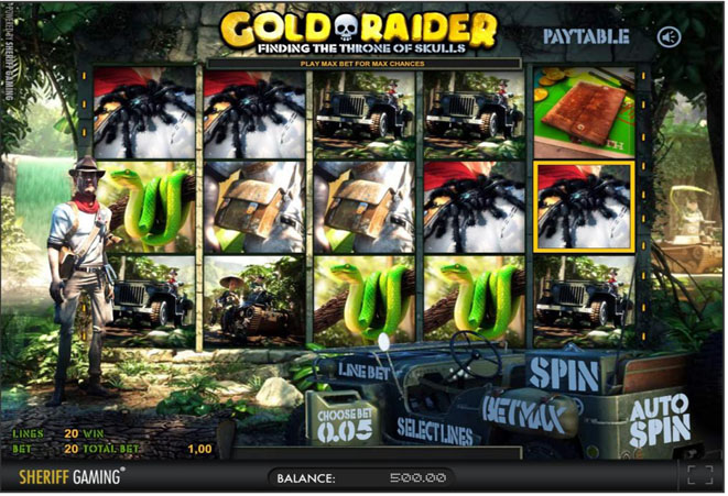 slot gratis gold raider