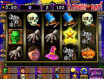 slot halloween party gioco