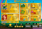 paytable slot irish eyes