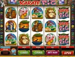 slot machine karate pig