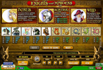slot gratis knights and maidens
