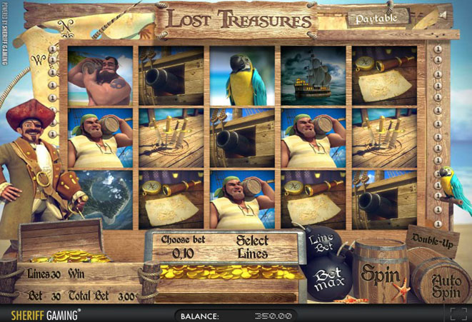 slot online gratis lost treasures