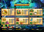 paytable slot mad mad monkey