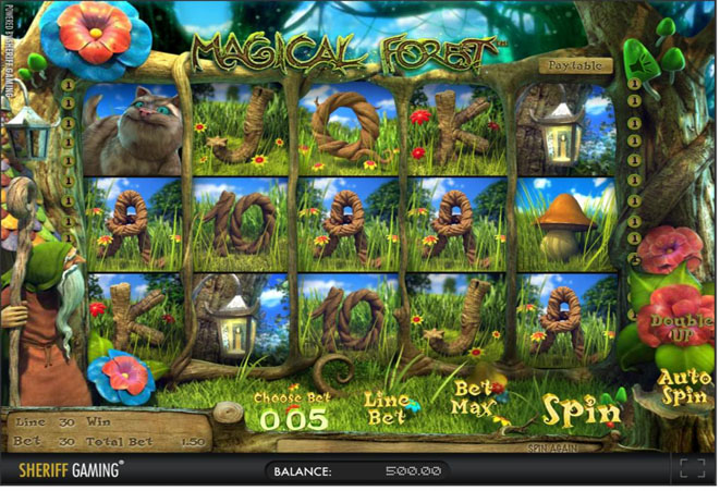 slot gratis magical forest