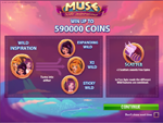 bonus slot machine muse