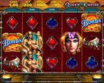 slot machine queen of empire octavian gaming