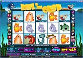 slot machine slot reel in the cash