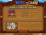 bonus slot online royal cash