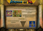 bonus slot scrolls of ra