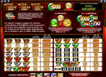 paytable slot super lucky reels