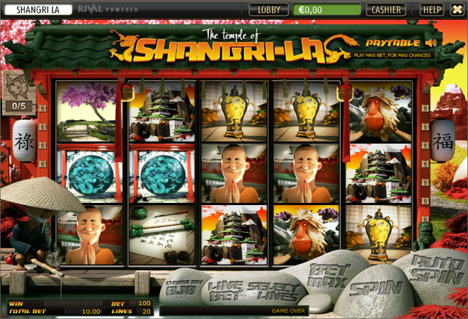 slot online gratis the temple of shangri la