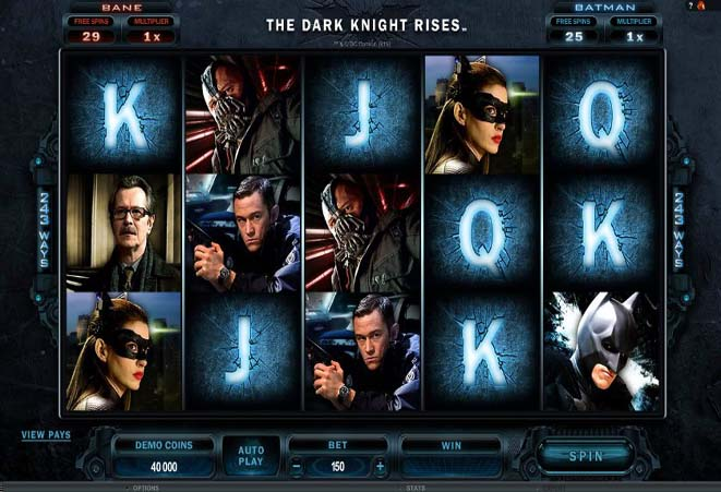 slot gratis the dark knight rises