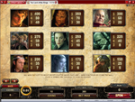 tabella pagamenti slot the lord of the rings
