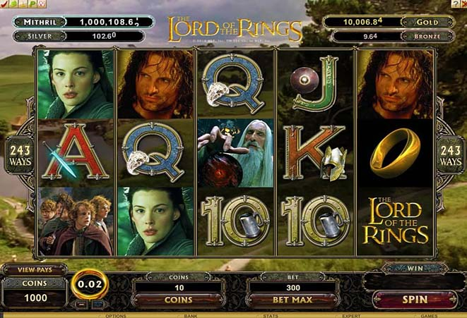 slot gratis the lord of the rings